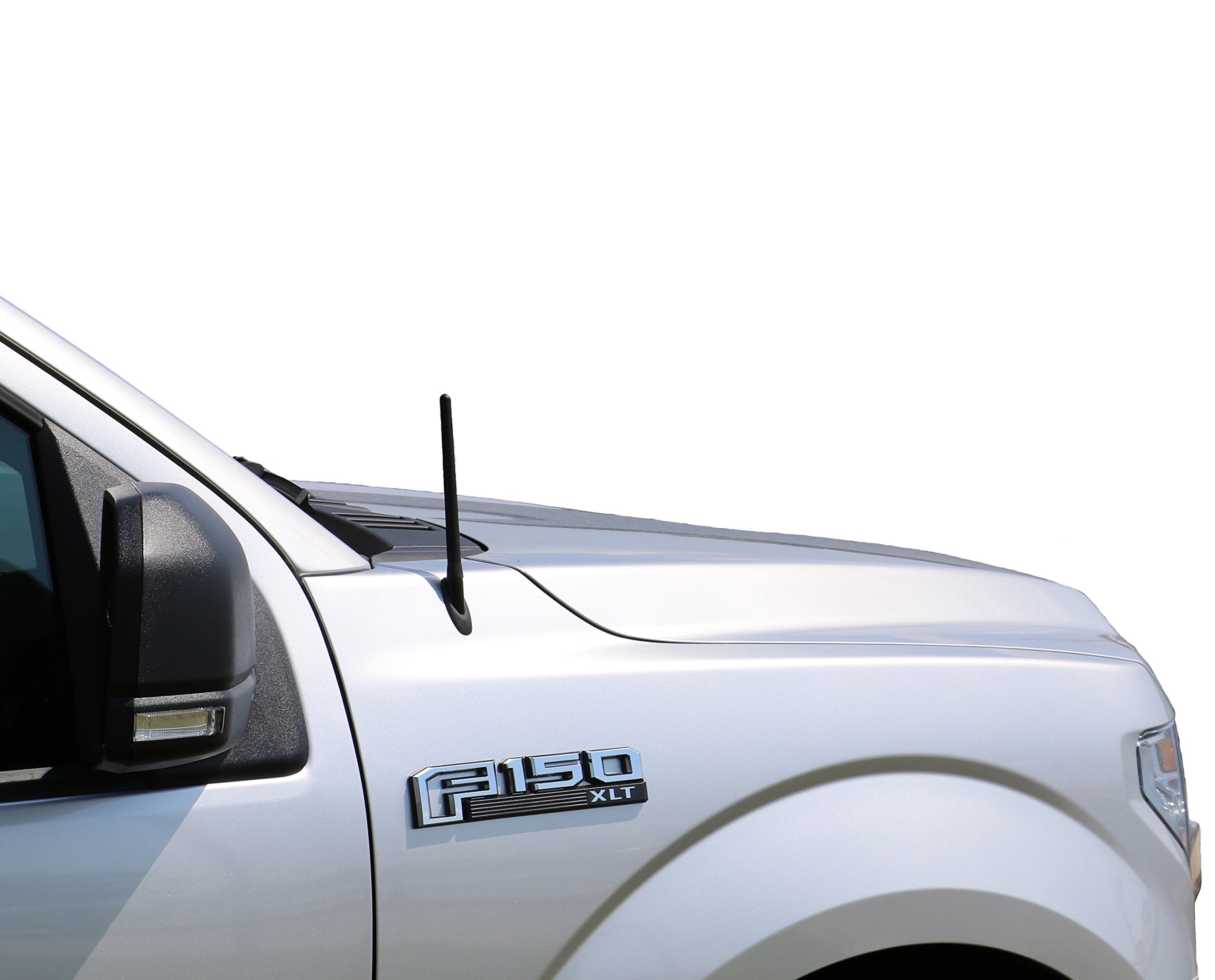 AntennaMastsRus - The Original 6 3/4 INCH Works with Ford F-150 (2009-2018) - Short Rubber Antenna - Reception Guaranteed - German Engineered - Internal Copper Coil by AntennaMastsRus