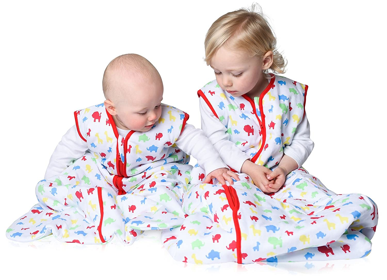 Snoozebag Twin Pack Planes /& Trains 2 Pack Jungle Fun 100/% Cotton 2.5 Tog Boys Nursery Baby Sleeping Bag Multi-Coloured 18-36 Months 110cm