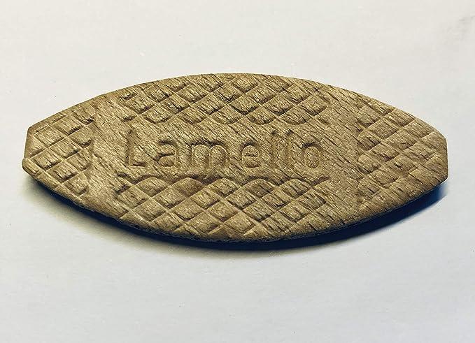 300 original HAKU® Buche Flachdübel auch Lamello genannt Größe 20