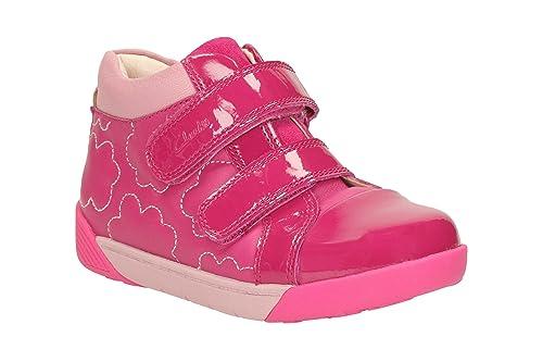7fda701cbaa4 Clarks LilfolkEmy Pre Girl s Boots in Pink 8.5 Pink  Amazon.co.uk ...