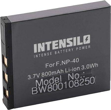 Intensilo Li Ion Akku 800mah Für Kamera Camcorder Fuji Kamera