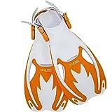 Cressi Rocks fins, White/Orange, S/M