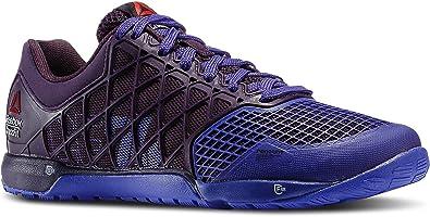 Reebok Nano 4.0 Crossfit Mujer Lila Malla Running Zapatillas de deporte zapatillas, color Morado, talla 37.5 EU: Amazon.es: Zapatos y complementos