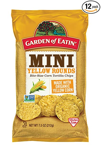 Amazoncom Garden of Eatin Mini Yellow Rounds Corn Tortilla