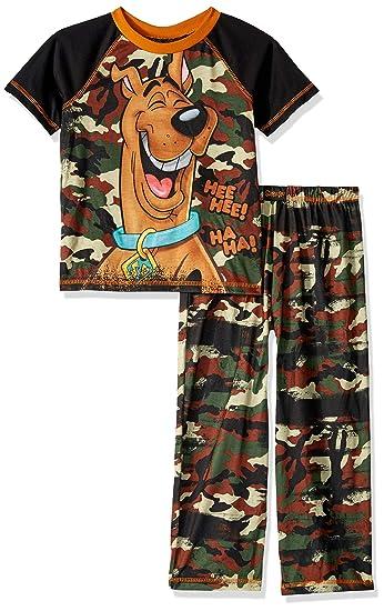 Amazon.com  Scooby Doo Boys  2 Piece Jersey Pajama Set  Clothing dbc03fda7