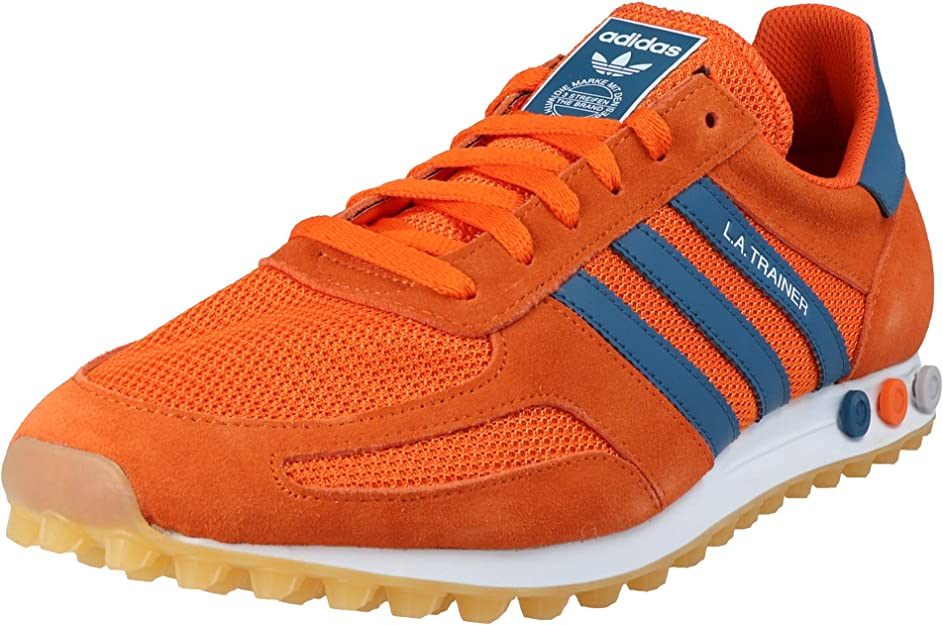Sencillez Cuna Vago  adidas Originals LA Trainer OG Men's Sneakers Orange, Shoe Size:48:  Amazon.co.uk: Shoes & Bags