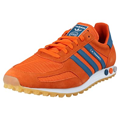 adidas Originals LA Trainer OG Schuhe Orange Sneaker Retro ...