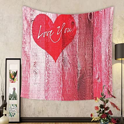 Amazon.com: Gzhihine Custom tapestry Love Decor Tapestry Me and You ...