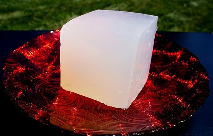 2 LB PREMIUM ULTRA CLEAR GLYCERIN MELT /& POUR SOAP BASE PURE ORGANIC