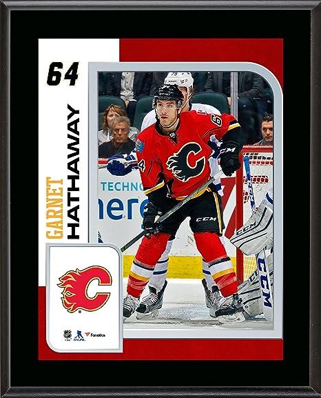 on sale dea38 d58fd Amazon.com: Garnet Hathaway Calgary Flames 10.5