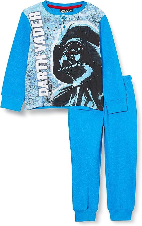 Star Wars HQ727, Pijama de Una Pieza para Niños, Multicolor ...
