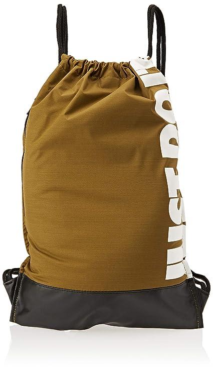 Amazon.com  Nike NK brsla gmsk Gym Sack, Unisex – Adult, Olive Flak ... b8649237d1
