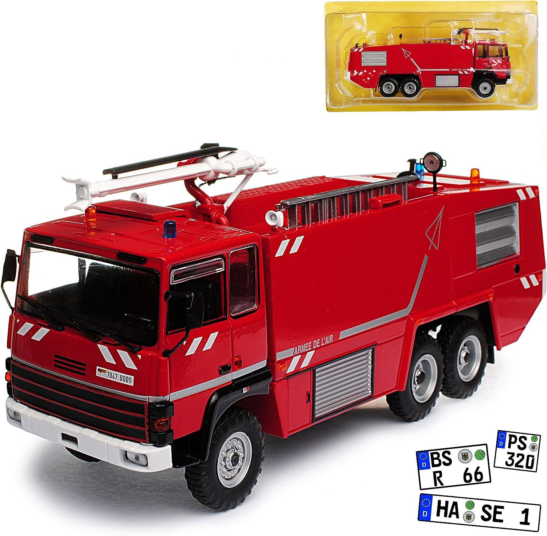 Atlas Thomas VMA 72 L/öschfahrzeug Feuerwehr Rot 1//43 Modell Auto mit individiuellem Wunschkennzeichen