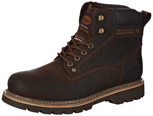 Dockers 331102-007020 - Botas de Cuero Hombre, Color marrón, Talla 47: Amazon.es: Zapatos y complementos