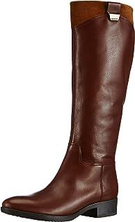 fb942acaa0618 Amazon.com | Geox Women's Felicity Over-The-Knee Riding Boot | Over ...