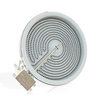 E G O 10 58111 004 Hilight Strahlungsheizkorper Mit O180 Mm Und 1800