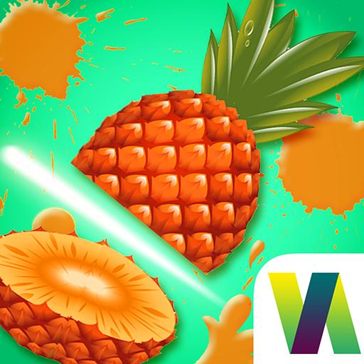 Fruit Slice and Fruit Slash - Pear Strawberry Fruit