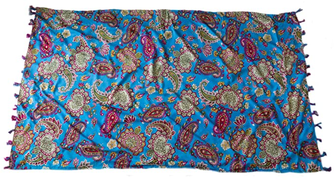 4e1c0fabfe34 Indian Accessories Toalla Pareo Estampado de Verano para la Piscina o la  Playa 166 x 94 cm