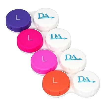4 x Estuches para Lentillas ~ Clasificados por Colores ...