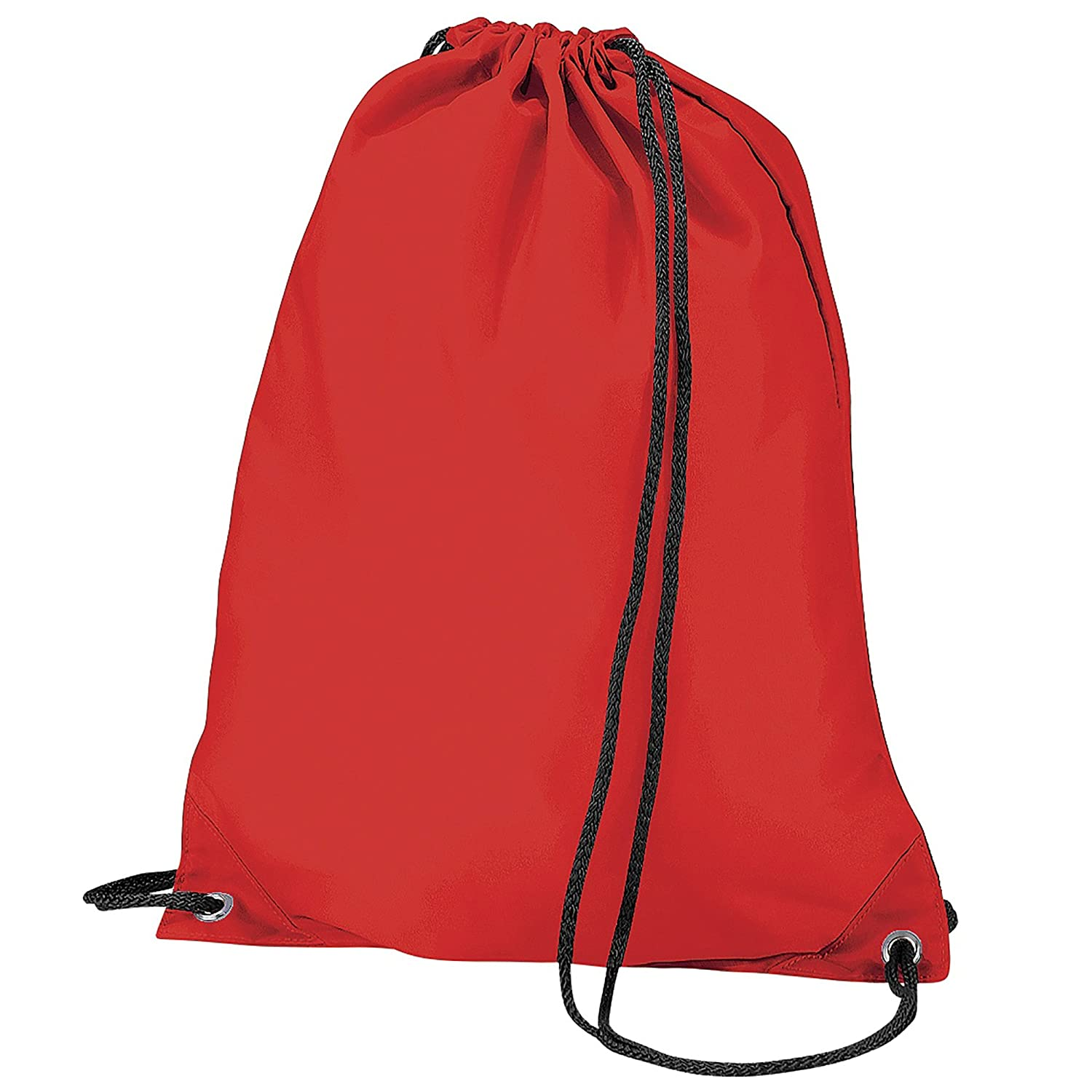 BagBase Budget Water Resistant Sports Gymsac Drawstring Bag (11 Litres) (One Size) (Orange) UTBC2538_5