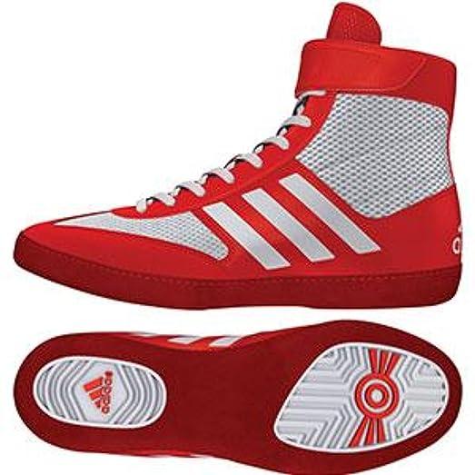 adidas Performance Men\u0027s Combat Speed.5, Core Red/White/Core Red,