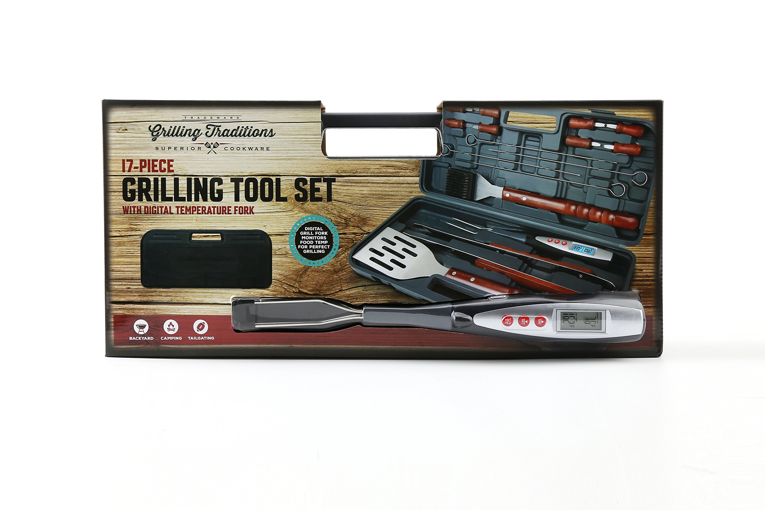 Grilling Traditions 17 Piece Grilling Tool Set by Grilling Traditions (Image #4)