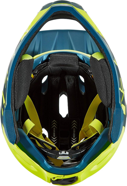 CASCO BELL SUPER DH FLEX MIPS 2020 colore VERDE ACQUA-NERO taglia L