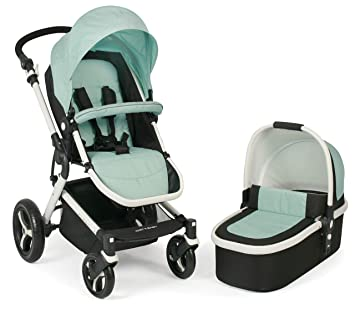 Chic 4 Baby 163 66 Kombi Kinderwagen Passo Inklusive Babywanne Sportsitz Und Maxi Cosi Adapter Mint Grun Amazon De Baby