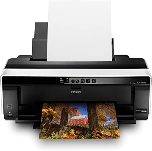 Epson Stylus Photo R2000 Wireless Wide-Format Color Inkjet Printer