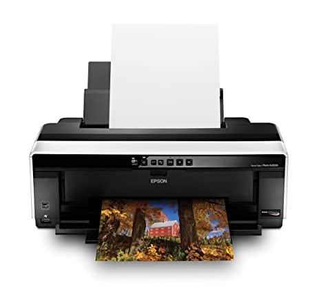 Amazon.com: Epson Stylus Photo R2000 inalámbrico wide-format ...