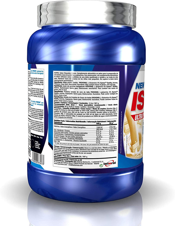 Quamtrax Proteina ISOPRO CFM Sabor Chocolate Blanco - 907 gr