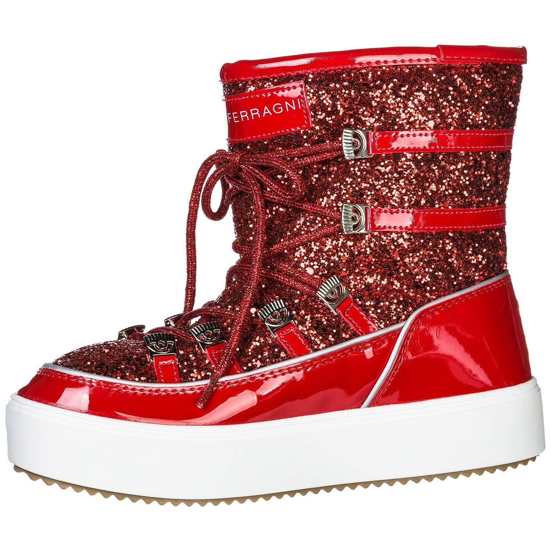 Chiara Ferragni Damen Schneestiefel Rosso  Amazon.de  Schuhe   Handtaschen 13f5893473
