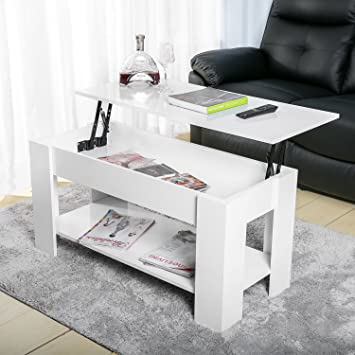 White Lift Up Coffee Table.Leisure Zone Lift Up Top Coffee Table With Storage And Shelf Living Room White