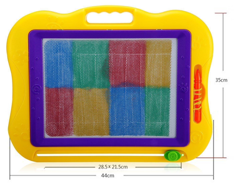 giallo Nalmatoionme lavagnetta cancellabile grandi dimensioni Doodle schizzo