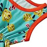 Leapparel Baby Boy Girl Yellow Flower Romper