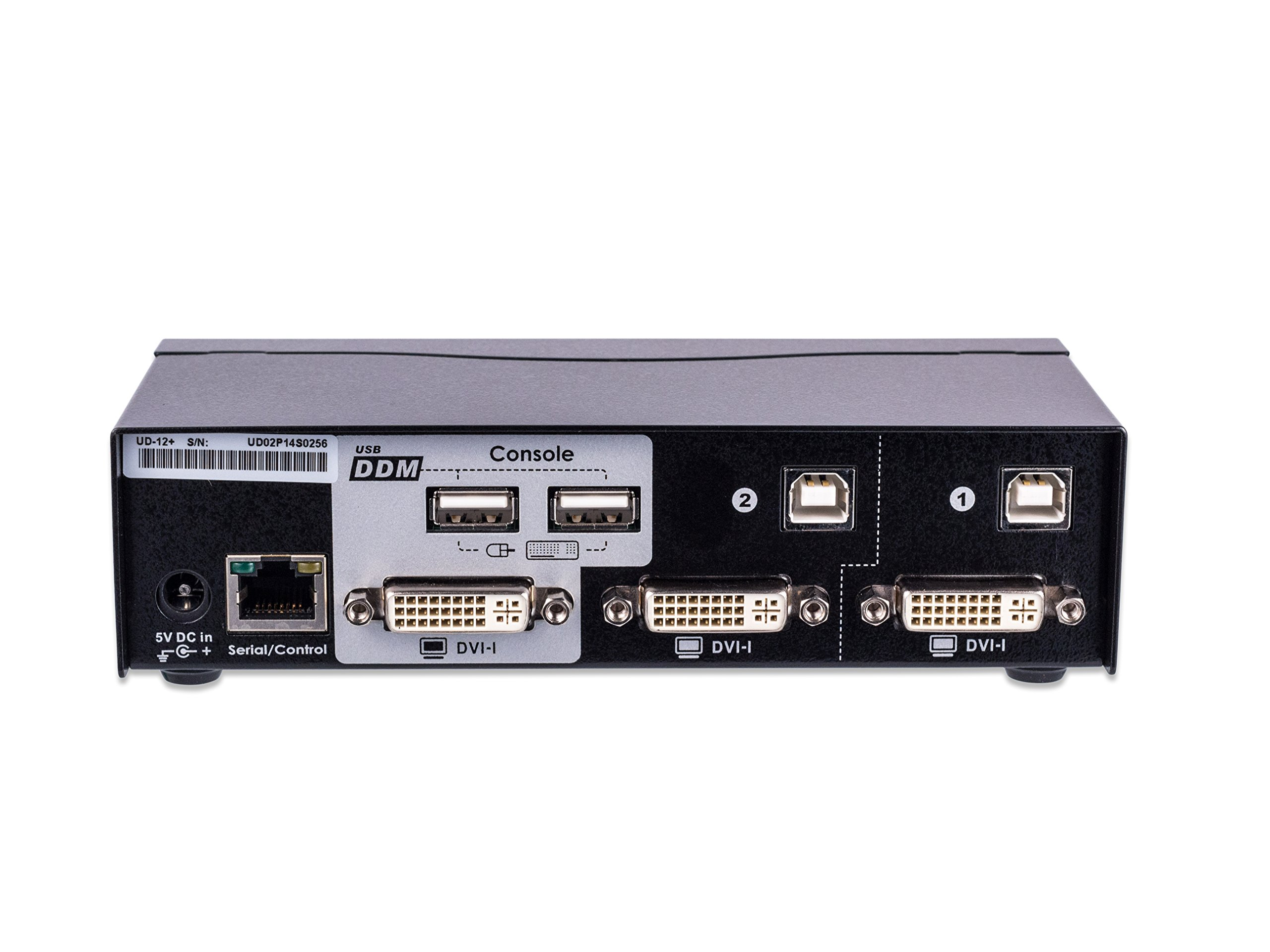 ConnectPRO UD-12+KIT, 2-port USB DVI KVM switch w/ DDM & multi-hotkey by ConnectPRO (Image #3)