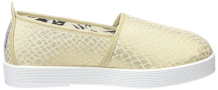 Ander, Zapatillas de Lona para Mujer, Dorado, 5.5 UK/39 EU Flossy