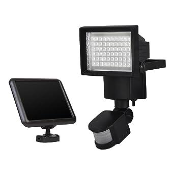 Proyector solar LED con sensor de movimiento de la marca Sunforce, modelo S82156