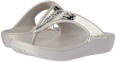 e94854cbd024 crocs Sloane Embellished Women Flip in Grey  Buy Online at Low Prices in  India - Amazon.in