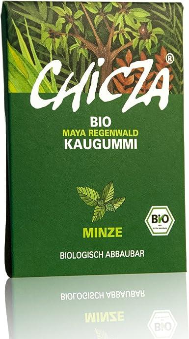 CHICLE MENTA ORGANICO: Amazon.es: Alimentación y bebidas