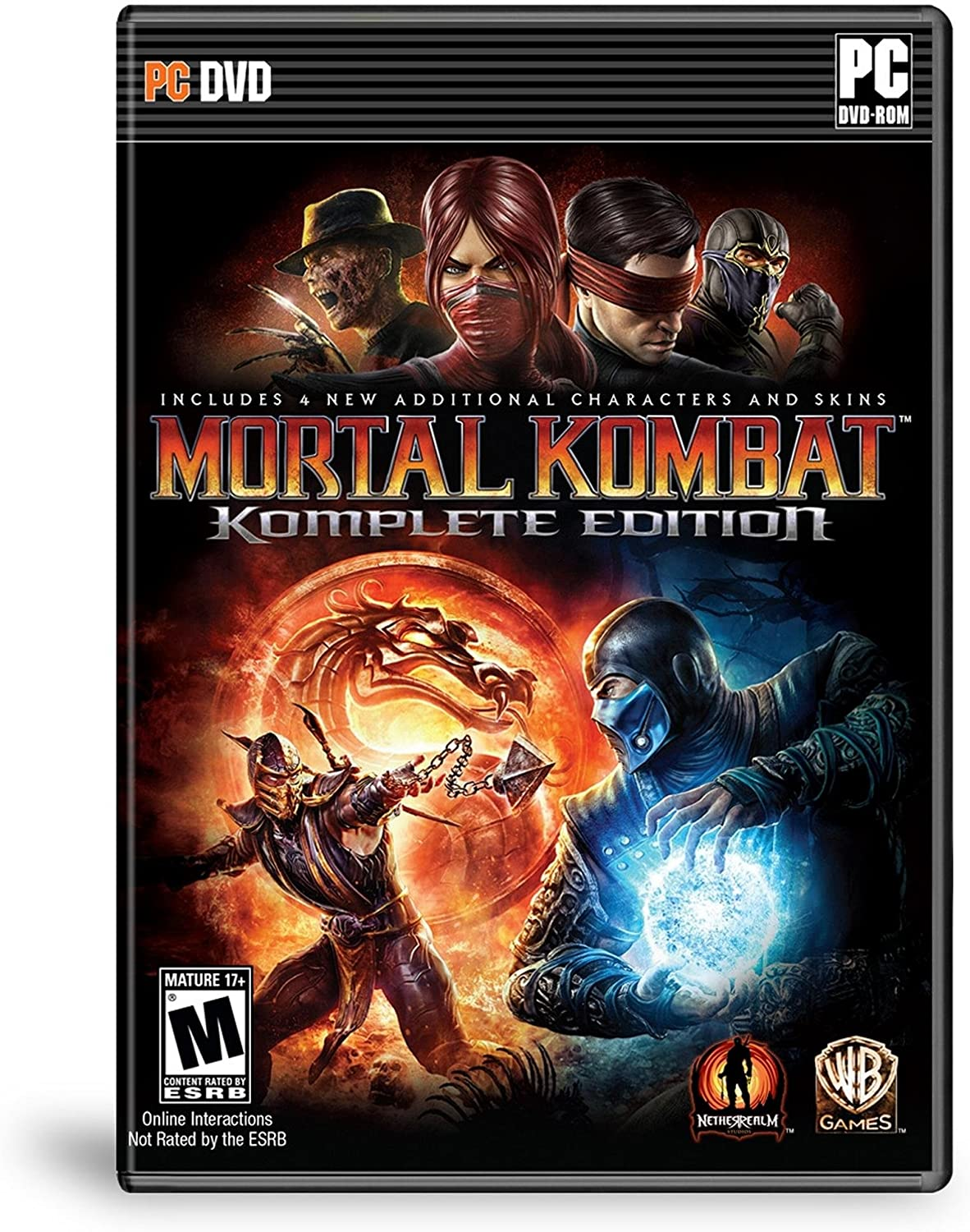 Amazon com: Mortal Kombat Komplete Edition - PC: Video Games