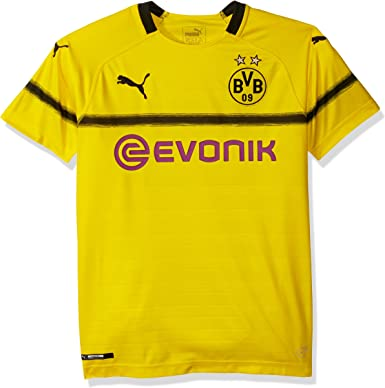 PUMA BVB Cup Shirt Replica Jr with Evonik Logo Camisa para ...