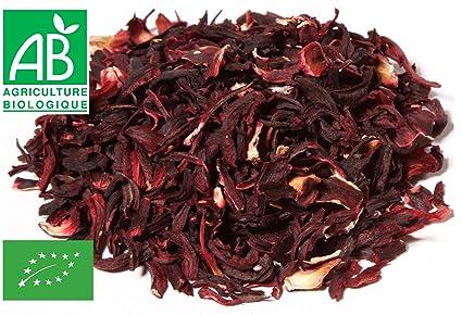 Flores de Hibisco secas Bissap Karkadé Bio 200g: Amazon.es: Alimentación y bebidas