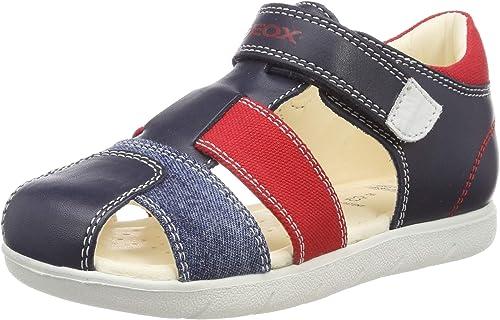 soldadura analogía Helecho  Geox Baby Sandal Alul Boy B Sandals, Blue (Navy/Red C0735), 6 UK Child:  Amazon.co.uk: Shoes & Bags