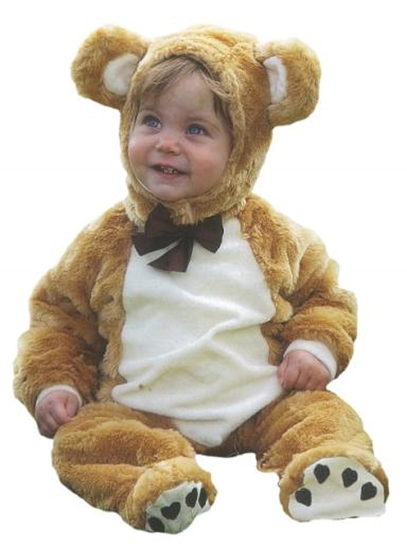 Travis Bebé Oso de Peluche Fancy Dress Up 3 – 18 Meses Niños Niñas Infantil Deluxe Disfraz