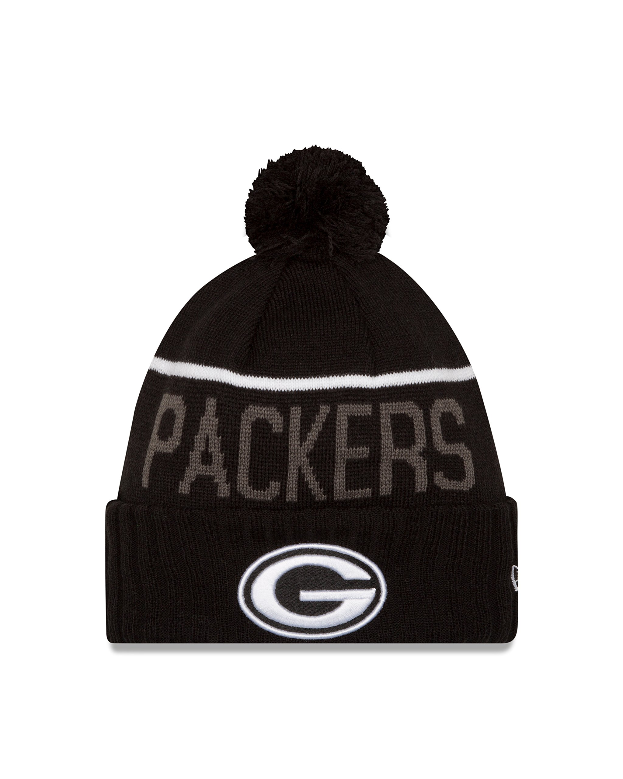 NFL Green Bay Packers 2015 Sport Knit, Black, One Size