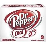 Dr. Pepper Diet, 355 milliliters, 4730 grams(Pack of 12)