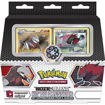 Asmodée Pokémon - POIN05 - Carte à à Jouer et à Collectionner - Kit du Dresseur Noir et Blanc