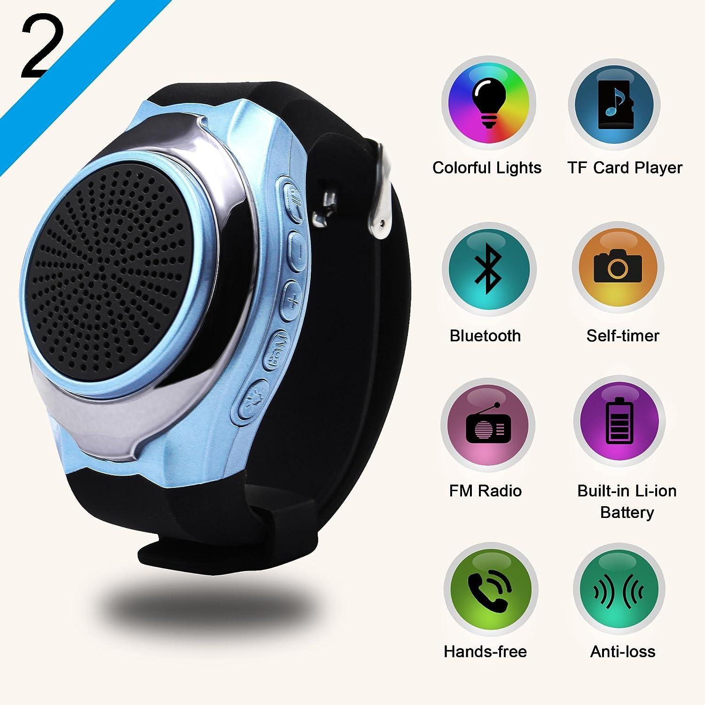 Outdoor-lautsprecher Einfach Wireless Leistungsfähige Sport Lautsprecher Radio Mp3 Player Subwoofer Schwarz Mit Tragen Strap Outdoor Sport Tragbare Bluetooth Lautsprecher Lautsprecher
