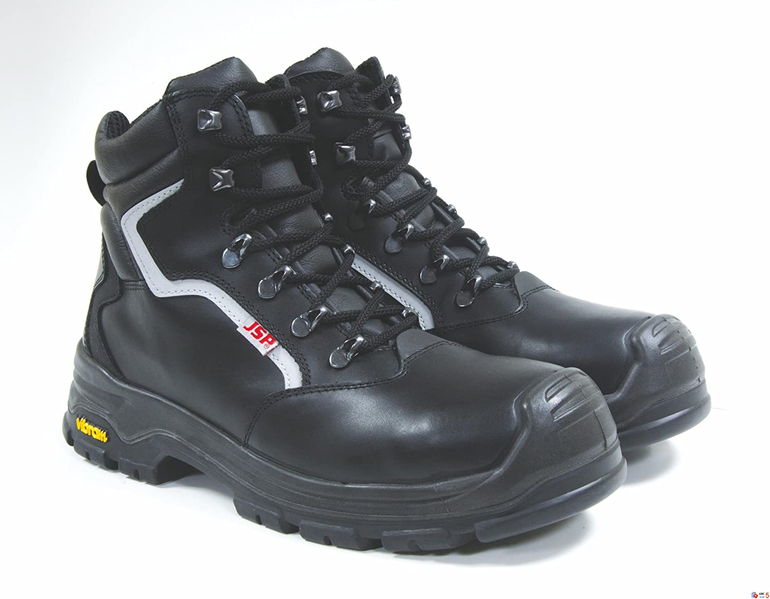 Rock Fall RF4500  Titanium S3 black high safety boot with side-zip and midsole